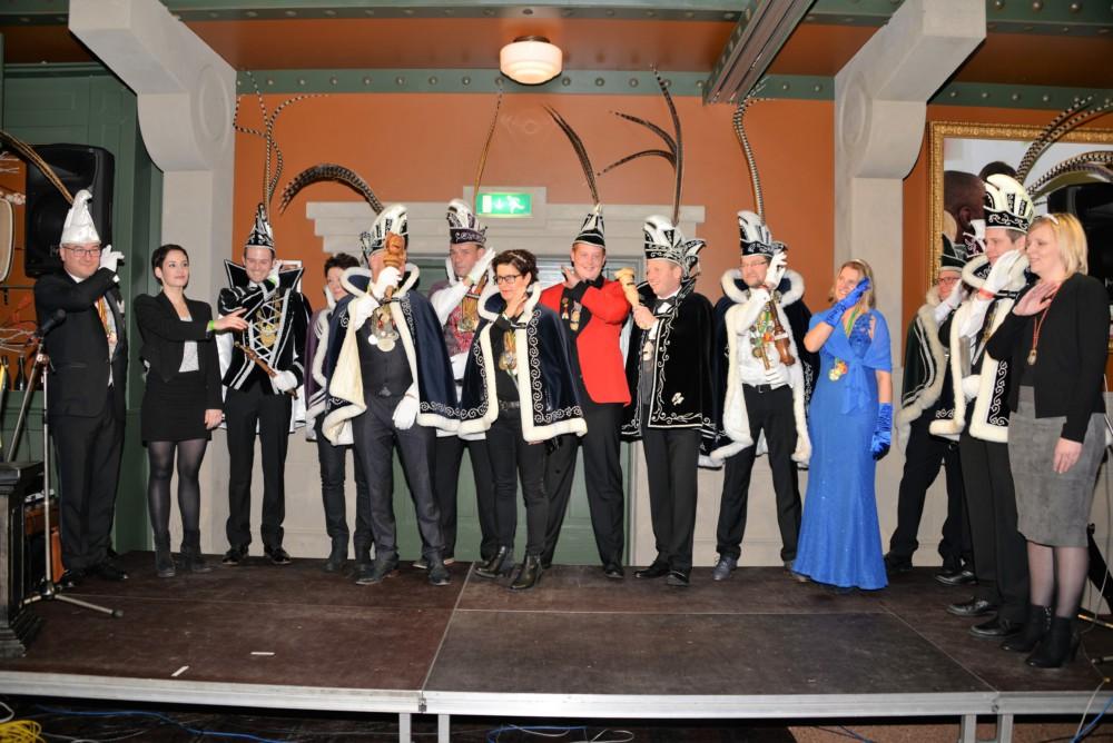 Kaauw Voetjes winnen trofee Prinsentreffen 2016