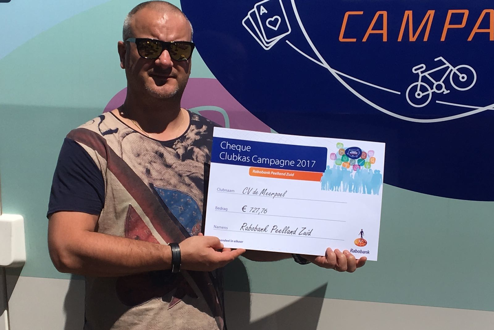 Rabobank Clubkas Campagne levert CV De Meerpoel mooie bijdrage op